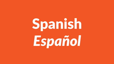 Spanish languagem español