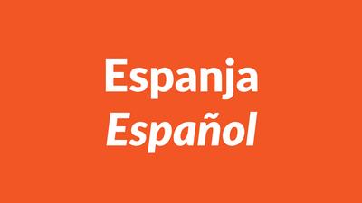 espanja, espanjan kieli, español