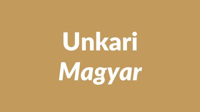 unkari, unkarin kieli